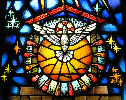 The Holy Spirit at Pentecost