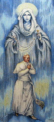 Pope John Paul II and Our Lady of the Rosary