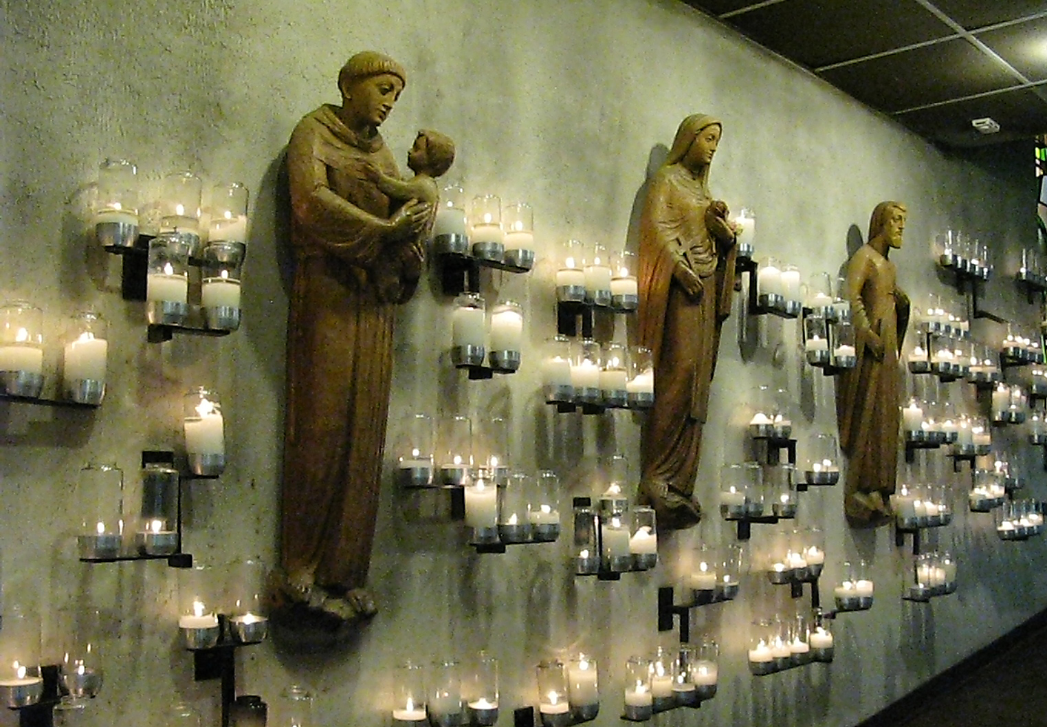 Hall of Candles and Saints