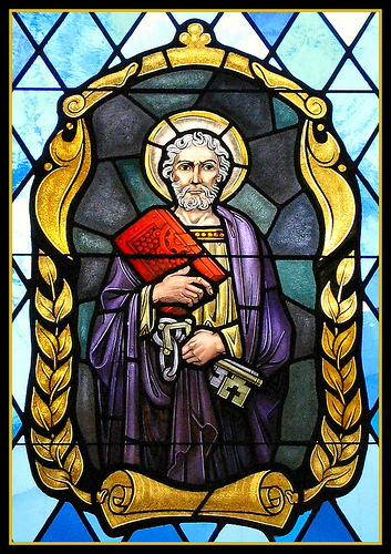 Saint Peter Holding Keys of Heaven